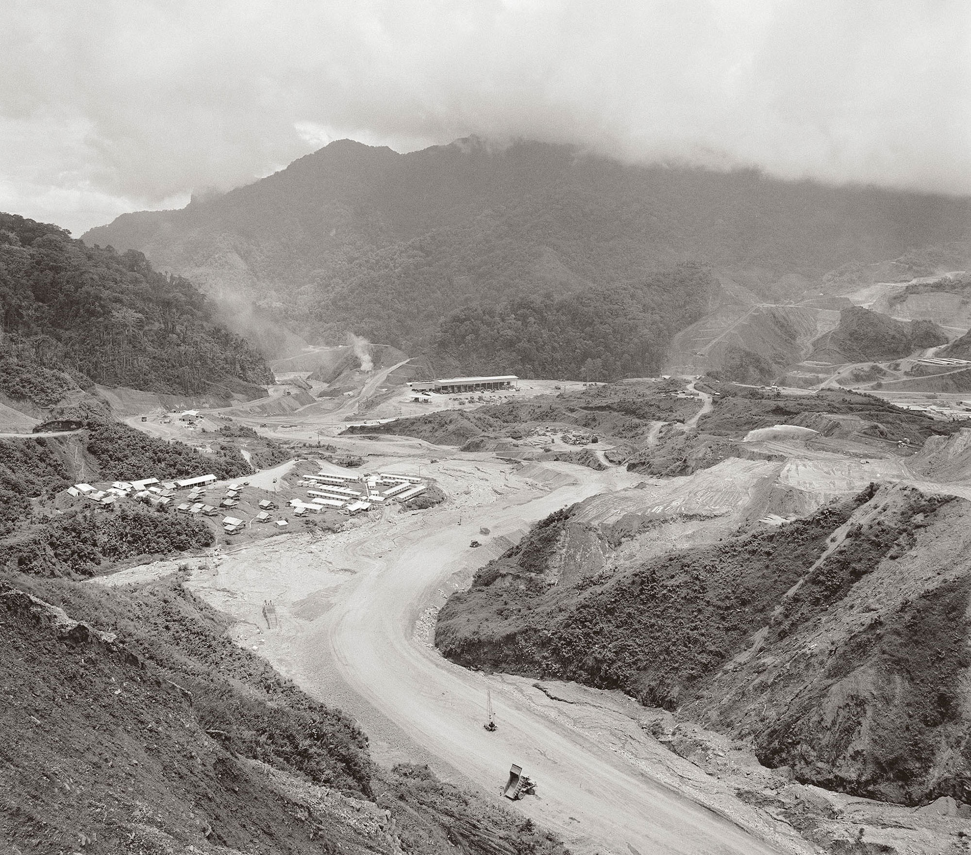 Bougainville Copper Mine project on the island of Bougainville,1971. Photographer unknown. Collection of the National Archives of Australia.