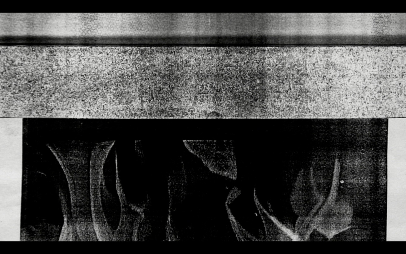 _Some kinds of Duration_, 2011. HD Video, black and white, sound, 5:05 minutes.